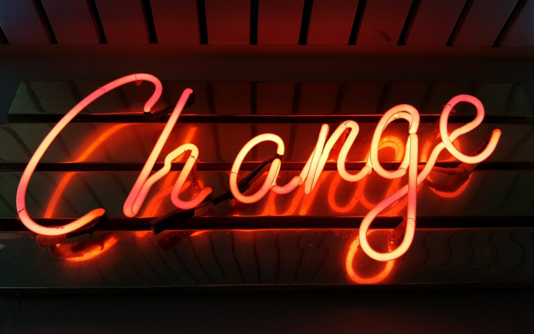 In the Beginning…of Change